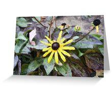 13 Yellow Petals Greeting Card