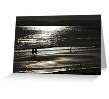Silver Sands Greeting Card