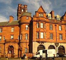 Edinburgh's Central Fire Station, 1900 - 1988 by Yonmei