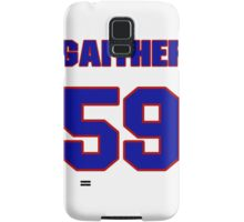 National football player Omar Gaither jersey 59 Samsung Galaxy Case/Skin