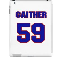 National football player Omar Gaither jersey 59 iPad Case/Skin