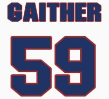 National football player Omar Gaither jersey 59 by imsport