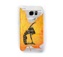 The Law of Karma. Yoga Book Samsung Galaxy Case/Skin