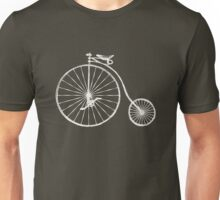 Old fashioned bicycle Unisex T-Shirt