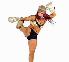 Female Kick Boxer  by PhotoStock-Isra