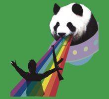 Panda stop gunner Kids Clothes