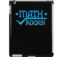 MATHS ROCKS with pi  iPad Case/Skin