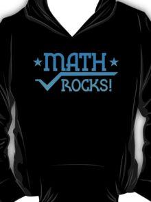MATHS ROCKS with pi  T-Shirt