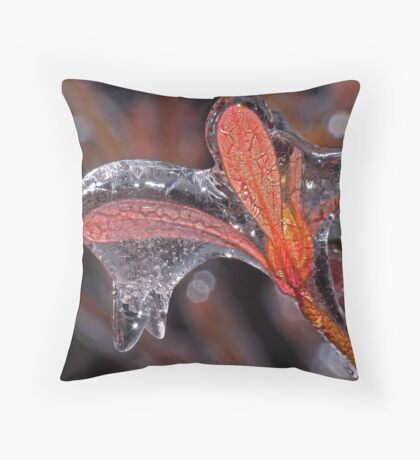 Waiting for Spring ! Throw Pillow