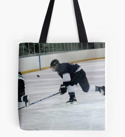keeping the puck Tote Bag
