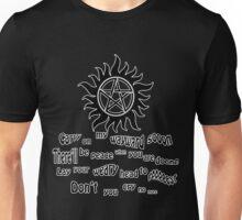 Wayward Son Lyrics Unisex T-Shirt