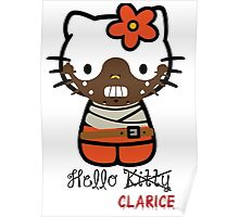 Hello Clarice Hello Kitty Poster