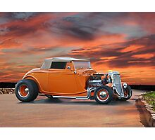 1934 Ford Cabriolet Photographic Print