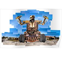 Almighty Junk Yard Monster Poster