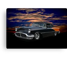 1956 Oldsmobile Custom Convertible Canvas Print