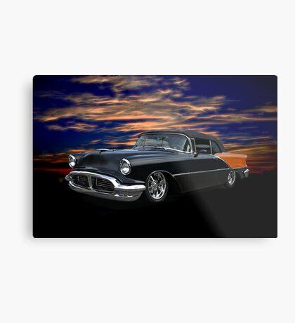1956 Oldsmobile Custom Convertible Metal Print