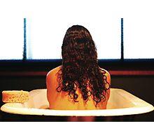 Bath Tub Glow Photographic Print