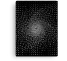 Numerical Vortex Canvas Print