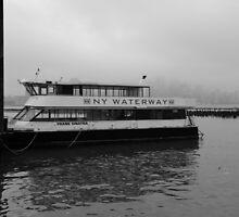 N Y Waterway Ferry Boat Hoboken NJ by pmarella