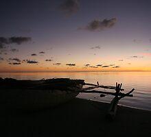 Aitutaki Outrigger by ardwork