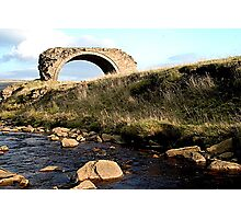 Old arch Rookhope Co. Durham Photographic Print