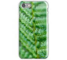 Green Fern iPhone Case/Skin