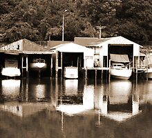 Boatsheds by ardwork