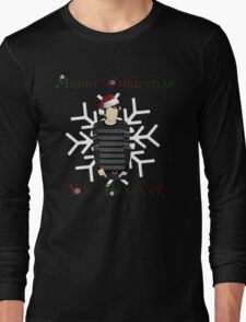 Merry Christmas You Peasant (danisnotonfire) Long Sleeve T-Shirt