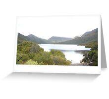 Cradle Lake, Tasmania,Australia Greeting Card