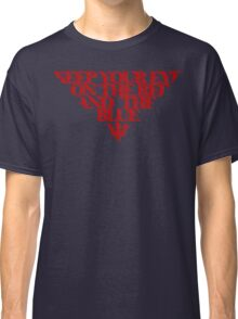 Melbourne Demons - The Red & the Blue Classic T-Shirt