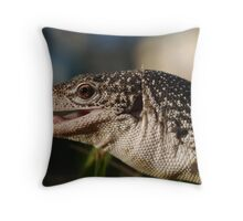 Varanus Scalaris Throw Pillow