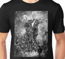 Ballroom Dancing - Black & White Art Unisex T-Shirt
