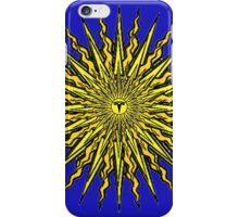 MEGA SUN TESLA iPhone Case/Skin