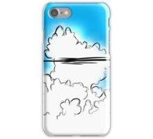 Thunderstorm Cloud Buildup iPhone Case/Skin