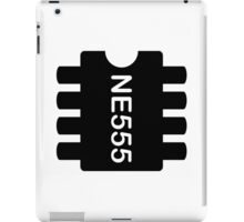 NE 555 IC iPad Case/Skin