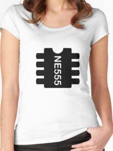 NE 555 IC Women's Fitted Scoop T-Shirt