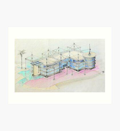 Oeiras Office Park Project Art Print