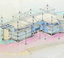 Oeiras Office Park Project by terezadelpilar~ art & architecture