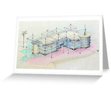 Oeiras Office Park Project Greeting Card