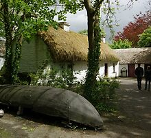 Stepping Back inTime - Bunratty Folk Park by Elmacca