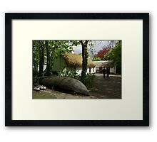 Stepping Back in Time - Bunratty Folk Park Framed Print