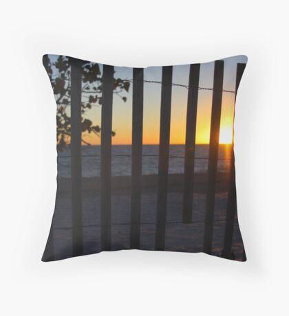 Jupiter Inlet Sunrise Throw Pillow
