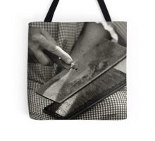 Carding Cotton Tote Bag