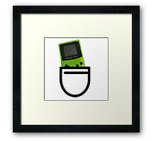 GBC in the Pocket Framed Print