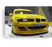 Rally Car 2 Canvas Print