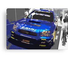 Rally Car 3 Canvas Print