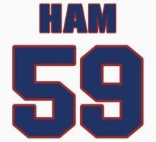 National football player Jack Ham jersey 59 by imsport