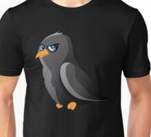 Cartoon Raven Unisex T-Shirt