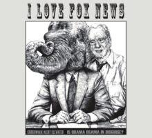 I LOVE FOX NEWS by MH Heintz