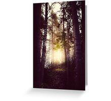 Nebel Greeting Card